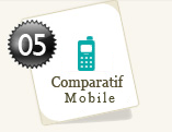 Comparatif t�l�phonie mobile